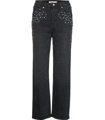 ribcage straight ankle border rechte jeans zwart levi´s women