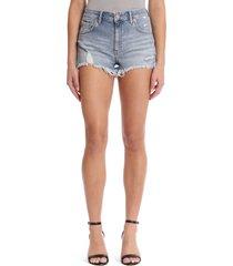 mavi jeans rosie retro 80s cutoff denim shorts, size 25 in mid retro 80s at nordstrom