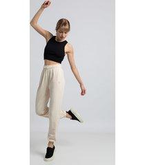 spodnie typu joggers- waniliowy(la-053)