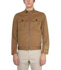 dsquared2 jacket with maxi pockets