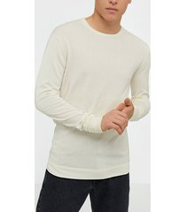 tailored originals knit - mont o neck tröjor milky