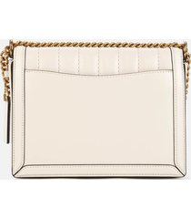 coach women's souffle quilting hutton shoulder bag - chalk