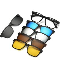 gafas lentes sol magneticas desmontables 5 piezas polarizadas