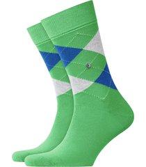 burlington king socks | green/blue | 21020-7204