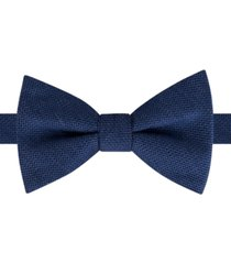 tommy hilfiger men's solid bow tie