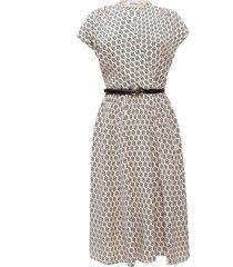 jurk met korte mouwen