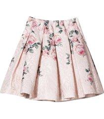 monnalisa pink skirt