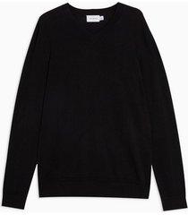 mens black essential sweater