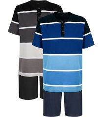 pyjamas g gregory svart::blå