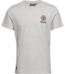 brando tee t-shirts short-sleeved grå morris