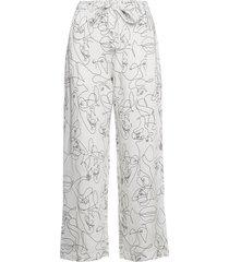 fie pants pyjamasbyxor mjukisbyxor vit underprotection