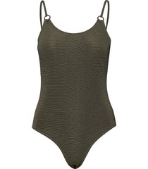 alchemy circle swimsuit badpak badkleding groen superdry