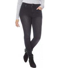 jeans skinny basico mujer negro corona
