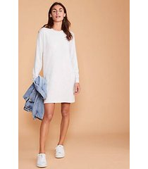 lou & grey signaturesoft plush sweatshirt dress