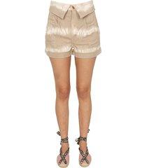 stella mccartney safari shorts