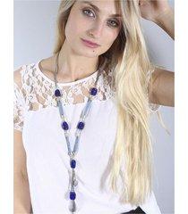 collar azul spiga 31
