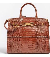 skórzana torebka do ręki luxe model megan