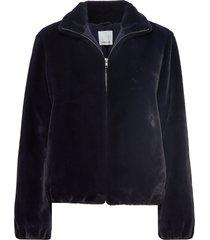 loulou jacket 11107 outerwear faux fur blauw samsøe samsøe