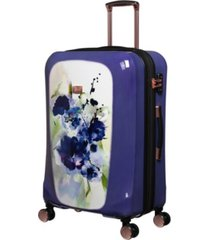 "it girl 28"" gleaming hardside expandable spinner suitcase"