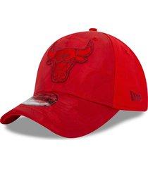 gorra 940 chicago bulls rojo - new era