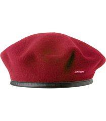 women's kangol monty wool beret - red