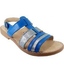 sandalia azul mdl calzados