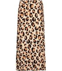 bobo skirt knälång kjol brun fabienne chapot