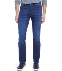 men's 34 heritage courage straight leg jeans, size 38 x 34 - blue