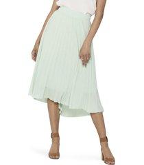 women's only paradise pleat midi skirt