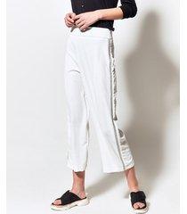 pantalón blanco portsaid