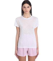 iro joly t-shirt in white cotton