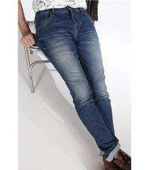jean skinny plano y cintura con pretina