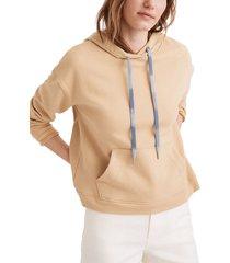 women's madewell dip dye drawstring hoodie, size xx-small - beige