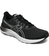 gel-excite 8 shoes sport shoes running shoes svart asics