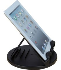 mind reader adjustable tablet stand for ipad mini, iphone, kindle, samsung and other tablets, stand spins