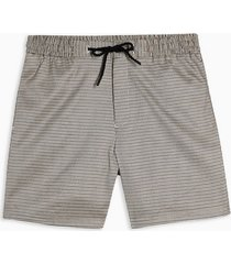 mens multi houndstooth pull on shorts