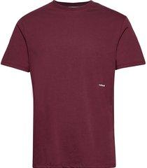 coffey t-shirt t-shirts short-sleeved röd soulland
