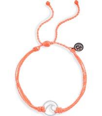 women's pura vida wave braided cord bracelet