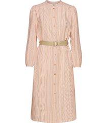 billiesz ls shirt dress knälång klänning rosa saint tropez