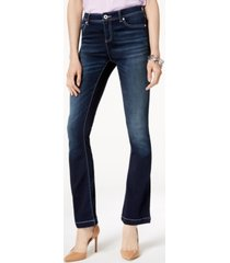 inc petite bootcut jeans, created for macy's