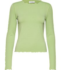 ziggy t-shirts & tops long-sleeved groen rodebjer
