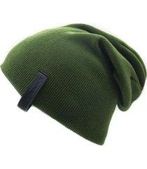 gorro de lana beanie epic verde flaw