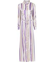 amir slama silk beach dress - neutrals