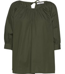 esmira blouse blouse lange mouwen groen lovechild 1979