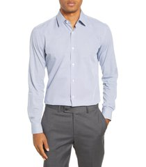 men's boss isko slim fit geometric dress shirt