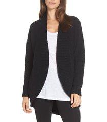 women's ugg fremont circle cardigan, size x-small - black