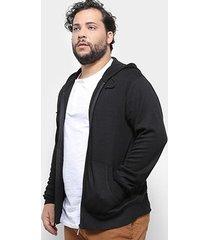 jaqueta tricô delkor plus size masculina