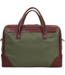 "mcklein harpswell, 17"" dual compartment laptop briefcase"