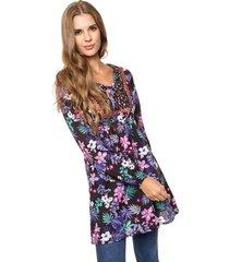 blusa violeta sophya folk