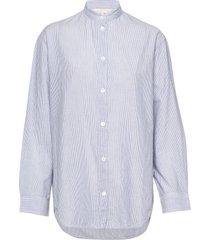 lidiane overhemd met lange mouwen blauw vanessa bruno